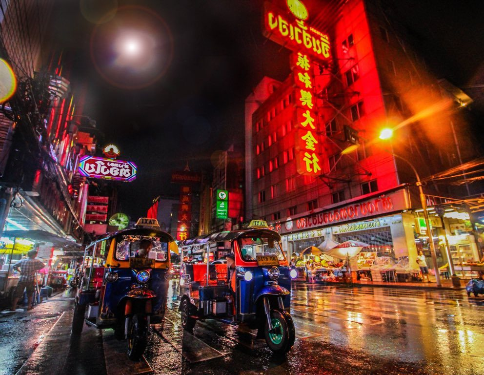 Partir en Voyage à Bangkok